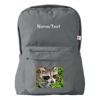raccoon backpack