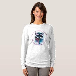 Raccoon Camping - MzSandino T-Shirt