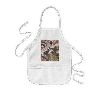 Raccoon Childrens Apron