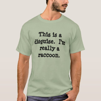 Raccoon Costume T-Shirt