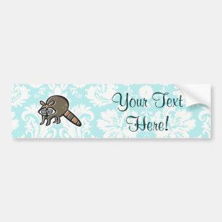 Raccoon; Cute Bumper Sticker