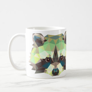 Raccoon design mug