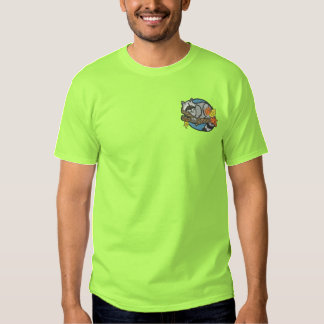 Raccoon Embroidered T-Shirt
