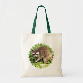 Raccoon Environmental Tote Bag