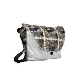 Raccoon Face Commuter Bag