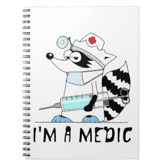 Raccoon: I'm a medic Notebook