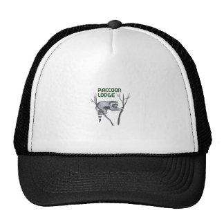 RACCOON LODGE TRUCKER HAT