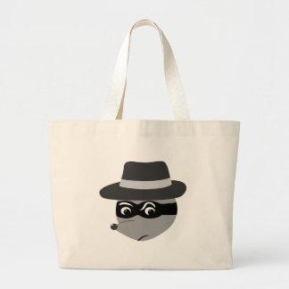 Raccoon Mobster Tote Bag