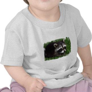 Raccoon Photo Baby T-Shirt