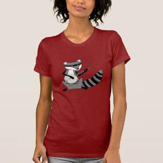 Raccoon Playing the Banjo T-Shirt