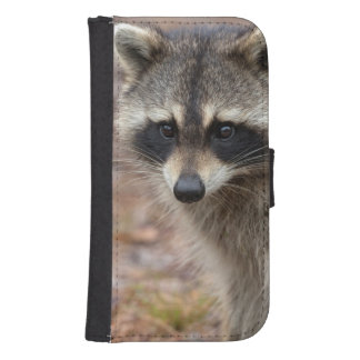 Raccoon, Procyon lotor, Florida, USA 3 Samsung S4 Wallet Case