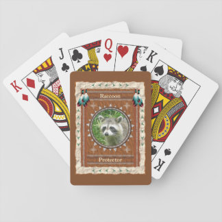 Raccoon  -Protector-  Classic Playing Cards