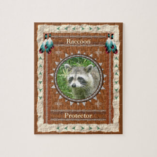 Raccoon  -Protector-  Jigsaw Puzzle w/ Gift Box