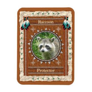 Raccoon  -Protector- Vinyl Flexi Magnet