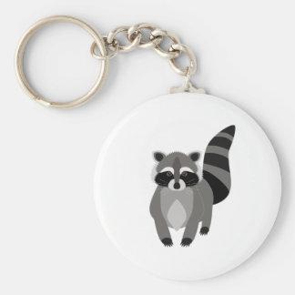 Raccoon Rascal Key Ring