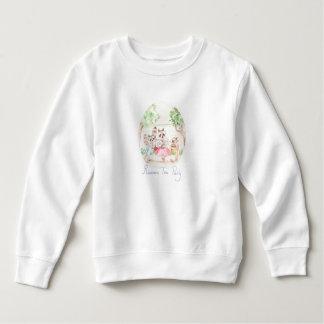 """""""Raccoon Tea Party"""" Toddler Sweatshirt"""