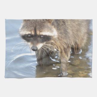 Raccoon Tea Towel