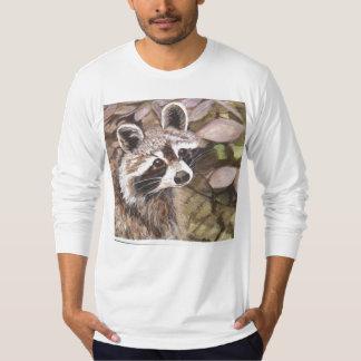 Raccoon Teeshirt T Shirt