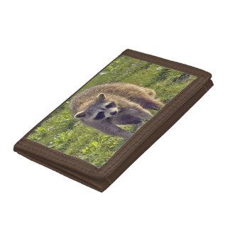 Raccoon Tri-fold Wallet