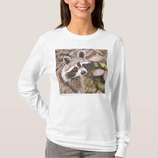 Raccoon Womens hoodie