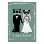 Raccoons Happily Ever After Congratulations