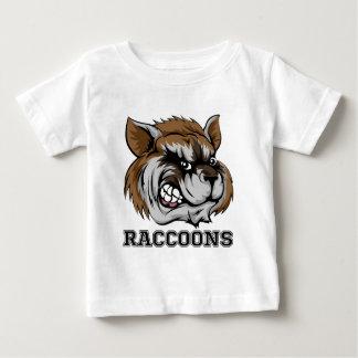 Raccoons Mascot Baby T-Shirt