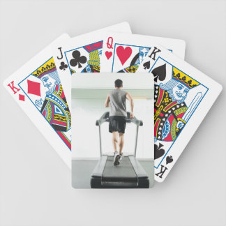 Race 2 bicycle playing cards