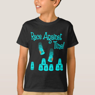 Race Against Time, lt blue T-Shirt