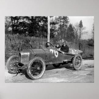 Race Car, 1915 Poster
