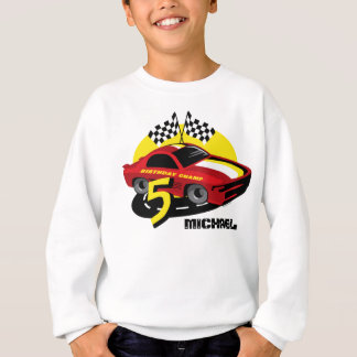 Race Car 5th Birthday Shirt