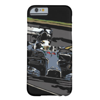 RACE CAR - BORN TO RACE BARELY THERE iPhone 6 CASE