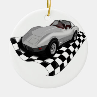 Race Car Christmas Ornament