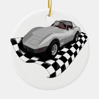 Race Car Christmas Ornament