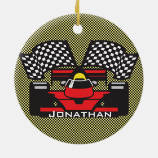 Race Car Design Ornament
