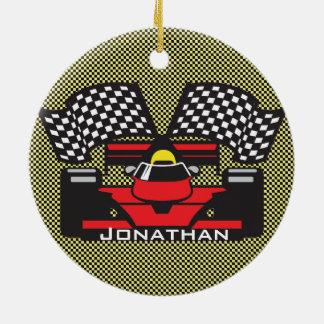 Race Car Design Ornament