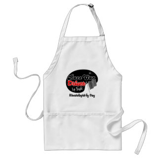 Race Car Driver by Night Kinesiologist by Day Standard Apron