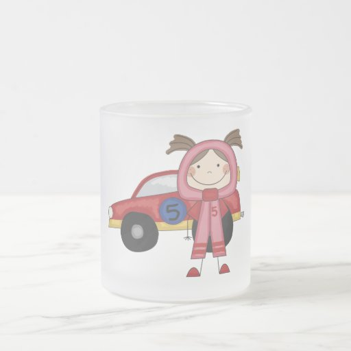 Race Car - Girl T-shirts and Gifts Coffee Mug