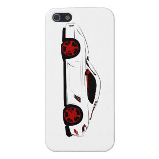 Race car cover for iPhone 5