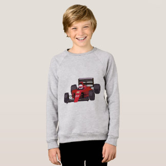 Race Car Kids' American Apparel Raglan Sweatshirt