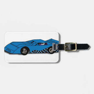 Race Car Luggage Tag