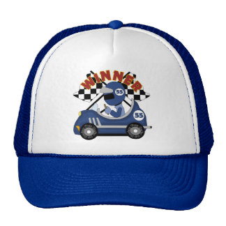 Race Car Winner Gift Cap
