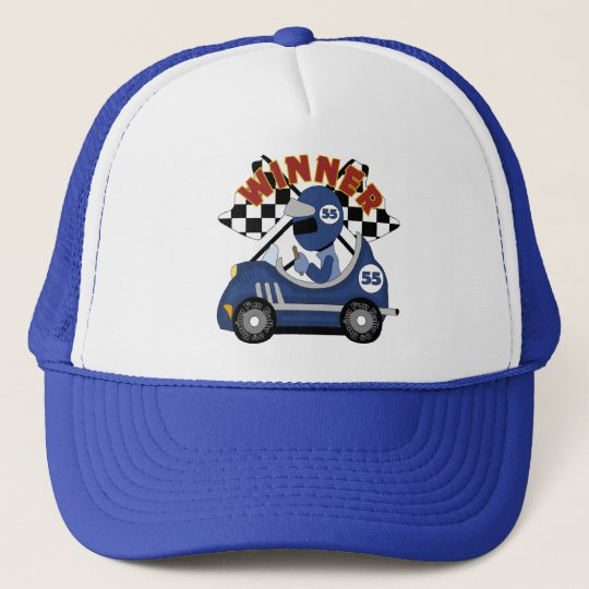 Race Car Winner Gift Trucker Hat