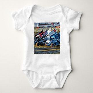 Race Cars Baby Bodysuit