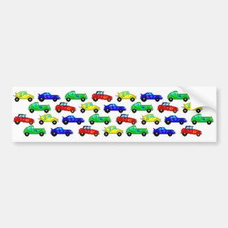 Race Cars Bumper Sticker