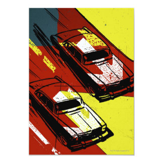 Race Cars Card