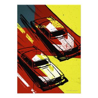 Race Cars Invites