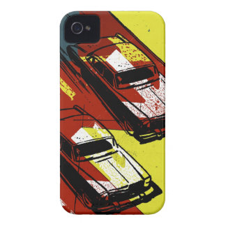Race Cars iPhone 4 Cover