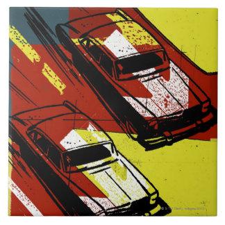 Race Cars Tile