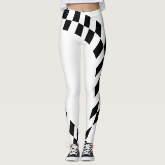 Race Flag Leggings