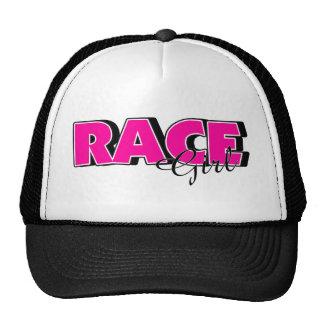 Race Girl Hats